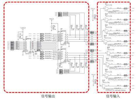 又采用了74lvc126a作为对输入信号采集前的电平转换.